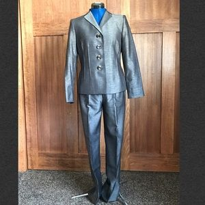 Kasper Metallic Sheen Two-Piece Suit